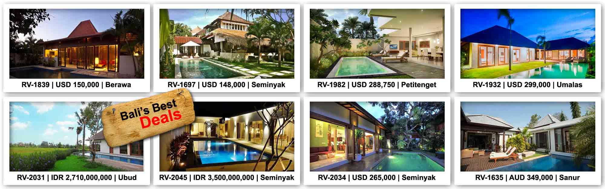 Listings Home For Sale In Bali