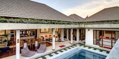 Twin Bali Villa - The Top View