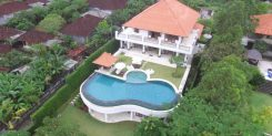 Luxury Villa in Jimbaran bali - Drone View