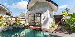 The pool of Villa in Ubud For Sale