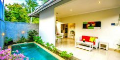 SECURE PRIVATE VILLAS WITH PRIVATE SWIMMING POOL