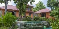 A SECURE PRIVATE TRADITIONAL BALINESE HOME