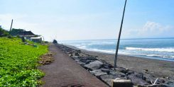 FREEHOLD ABSOLUTE BEACHFRONT LAND IN KETEWEL - IDR 425M/ARE