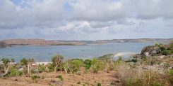 FREEHOLD HILLTOP LAND WITH OCEAN VIEWS OF LOMBOK